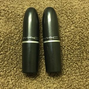 Two MAC lipsticks